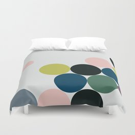 cluster || chill Duvet Cover