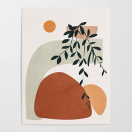 Soft Shapes I Poster