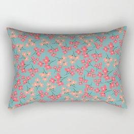 flowers 5 Rectangular Pillow