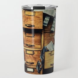 Filing System Travel Mug