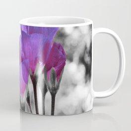 Fuchsia Violet Flowers Pop Of Color Coffee Mug