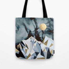 Midnight Peaks Tote Bag