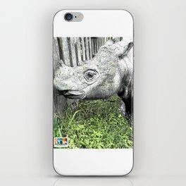 Sumatran Rhinoceros iPhone Skin