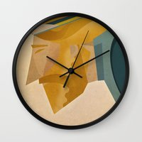 jesus Wall Clocks featuring Jesus by Riccardo Guasco