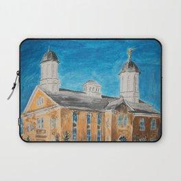 Vernal Utah LDS Temple Laptop Sleeve