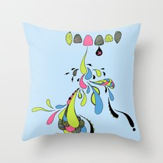 Growing Pain Throw Pillow