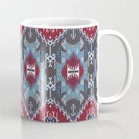 ethnic Mugs featuring Ethnic  by Judy Csotsits