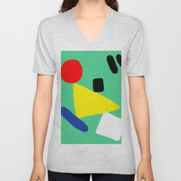 The Balancing Act Unisex V-Neck