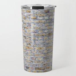 Old brick british wall Travel Mug