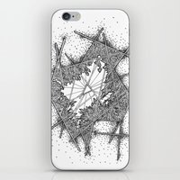 fractal iPhone & iPod Skins featuring Fractal by Abstract Al