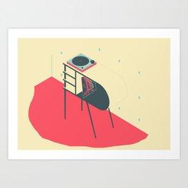 Letter Series: R Art Print