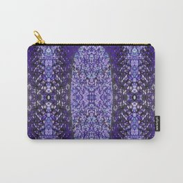 Snake Skin (purple/violet) Carry-All Pouch
