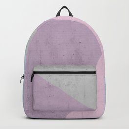 Cold Tones Geometry Backpack