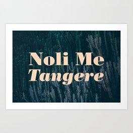 Noli Me Tangere - Touch Me Not Art Print