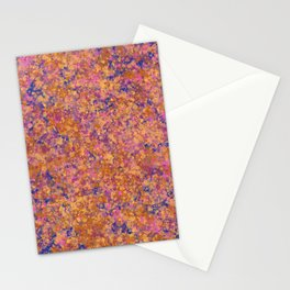 Marbled Speckles - Dark Blue Stationery Cards