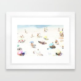 beach XXI Framed Art Print