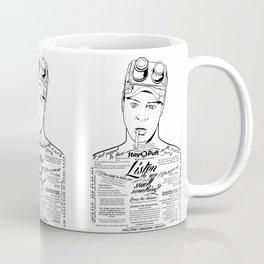 Dan Aykroyd Tattooe'd Ghostbuster Ray Stantz Coffee Mug