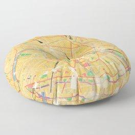 Another Paris Floor Pillow