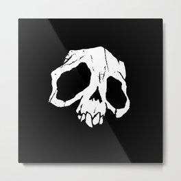 Ghoul Skull Metal Print