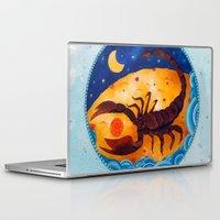 scorpio Laptop & iPad Skins featuring Scorpio by Sandra Nascimento