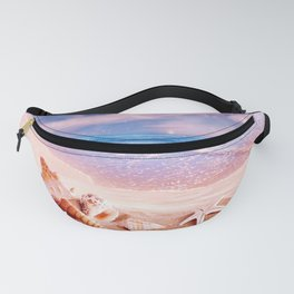 On the beach Fanny Pack