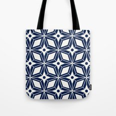 Starburst - Navy Tote Bag