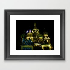 Saint Basil's Cathedral, Moscow Framed Art Print