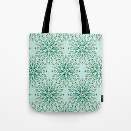 Ice flower 1d Tote Bag