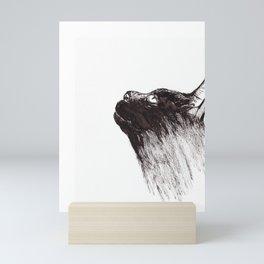 Cat Rising Mini Art Print
