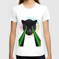 panther T-shirts featuring Panther by mark ashkenazi