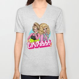 UNHhhh Unisex V-Neck