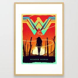 To the War! Framed Art Print