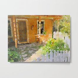 Kitchen Garden Metal Print