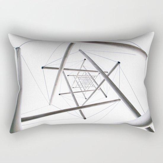 Infinite Geometry Rectangular Pillow
