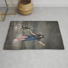 Amor Fati or Dancing in the Rain Rug