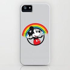 Mickey Rainbow iPhone (5, 5s) Slim Case