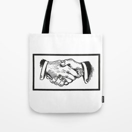 Handshake Tote Bag