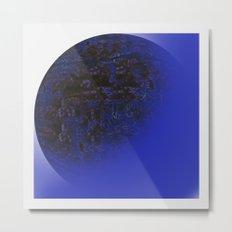 Q-BLUE Metal Print