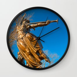 Golden Spirit of Louisiana Wall Clock