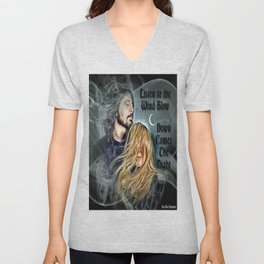 Stevie Nicks & Dave Grohl - Listen to the Wind Blow ~ Unisex V-Neck