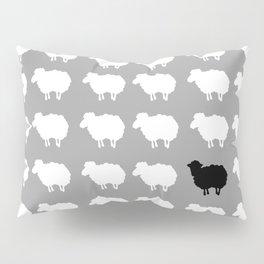 Black sheep Pillow Sham