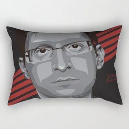 Edward Snowden Rectangular Pillow