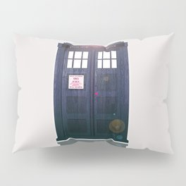 The Tardis Light Pillow Sham
