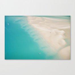 Teal Sands Canvas Print