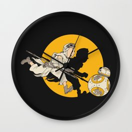 THE ADVENTURE OF A SCAVENGER Wall Clock