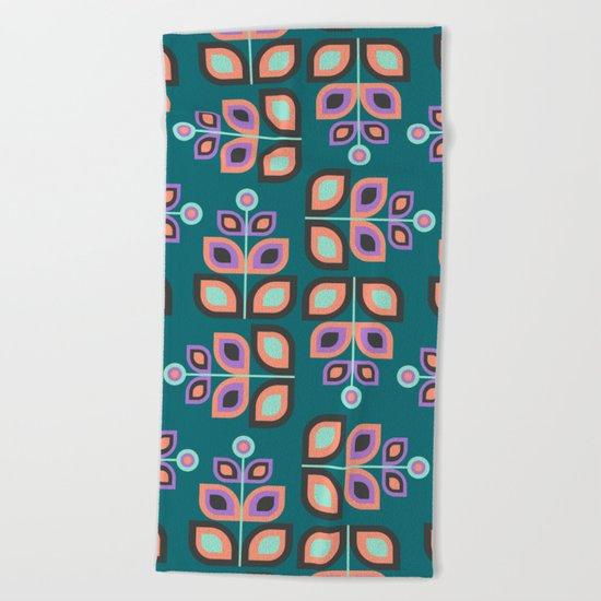May Flowers Beach Towel