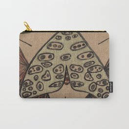 Moth Messenger Carry-All Pouch