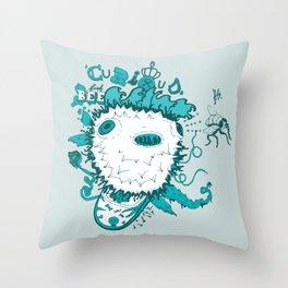 Curious Throw Pillow