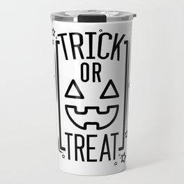 Cute Trick or Treat Travel Mug