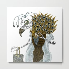 Culture Vulture Metal Print